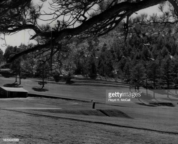 APR 14 1948 One of the most scenic golf layouts in the Denver area is the 18hole Evergreen course bordering Evergreen lake twentynine miles southwest...