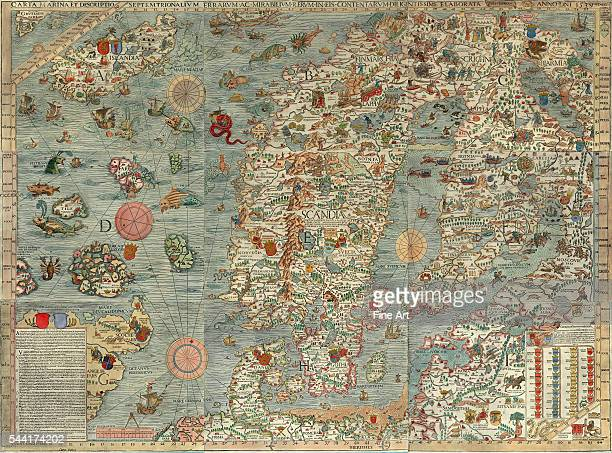 One of the oldest known maps of the Scandinavian countries and the region around the Baltic Sea is the 1539 Carta Marina a magnificent chart created...
