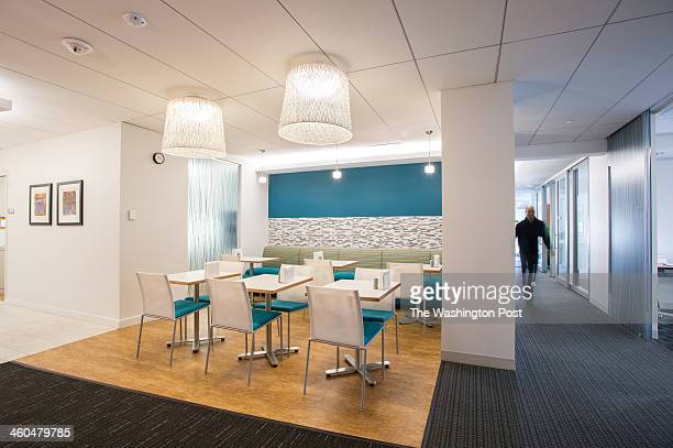 One of the open space collaborative conference spaces at Womble Carlyle Sandrich Rice LLP designed for maximum use of natural light 2013