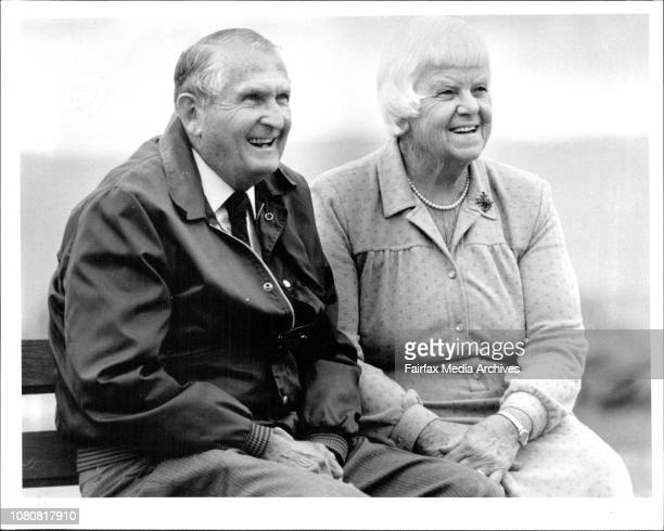One of the original Royal flying doctors and successor to Flynn Reverend Fred McKay and his wife Margaret at their village Richmond todayThe talking...