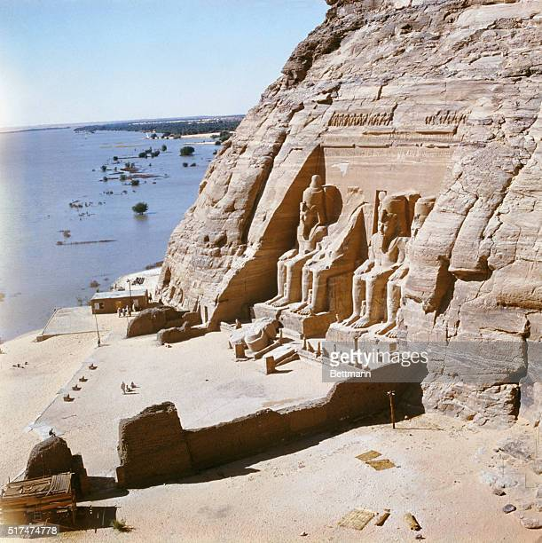 One of the prices being paid for the Aswan High Dam is the loss of irreplaceable archeological treasures which will be swallowed up by the...
