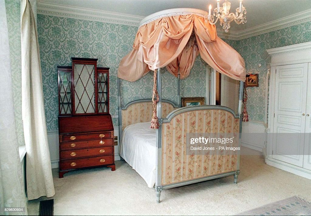 One Of The Principal Bedrooms In Camilla Parker Bowles New Home, Ray Mill  House