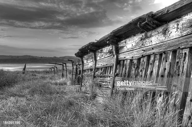 CONTENT] One of the Purton wrecks alongside the Severn river in Gloucestershire