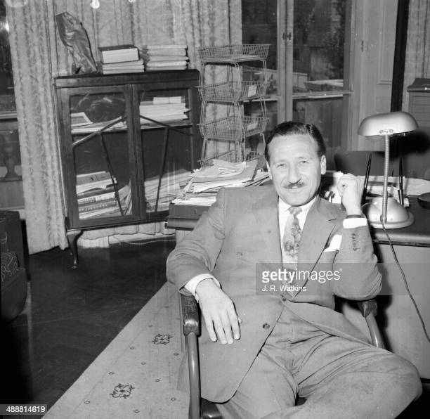 One of the rebels at the Iraqi embassy in London they are representing the new Iraqi regime after the execution of King Faisal July 1958