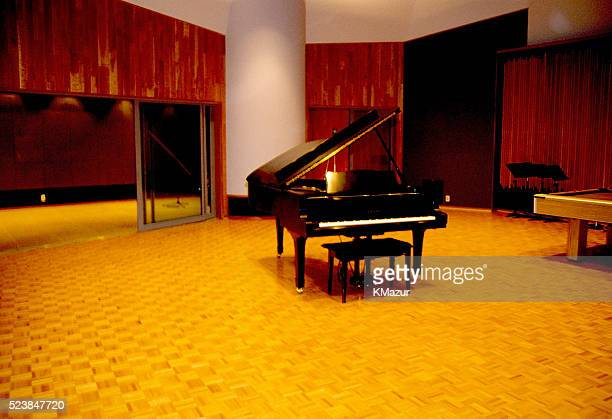 One of the recording studios inside Paisley Park circa 1990 at Paisley Park in Chanhassen Minnesota