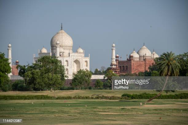 One of the Seven Wonders of the World, the Taj Mahal is a white marble mausoleum built with nearly perfect geometric architecture on the banks of the...