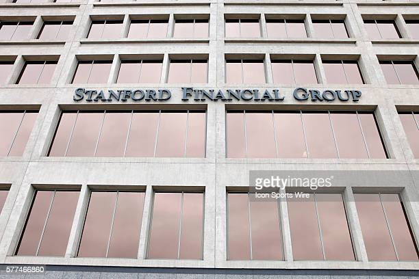 One of the Stanford Financial Group offices after officials raided the company after high returns on certificates of deposit at a Caribbean island...