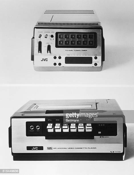 Vcr stock photos and pictures getty images one of the very first vcrs made and the larger model available for the public afterward publicscrutiny Choice Image