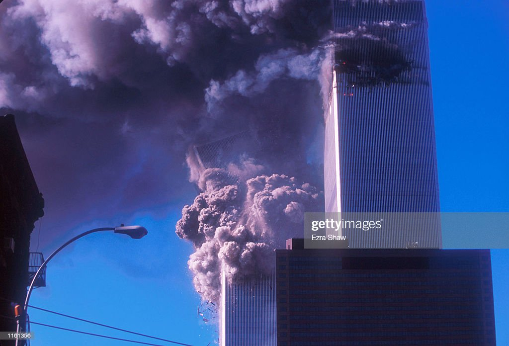 Attack On World Trade Center : News Photo