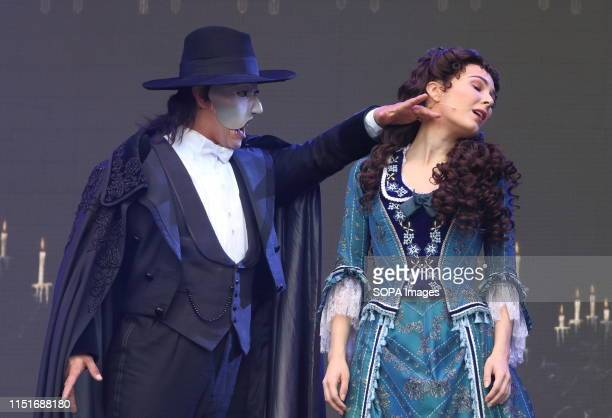 One of the world's most famous musicals, Phantom of the Opera with Tim Hower as Phantom is performed at the West End LIVE. The weekend where the cast...