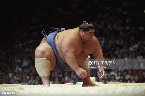 One of the wrestlers participating in the tournament