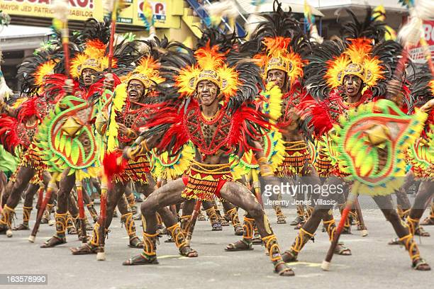 CONTENT] One of thecompeting groups perform during the Ati Streetdance Competition of the Dinagyang Festival in Iloilo City the Philippines Held...