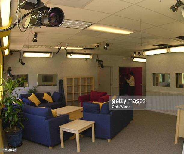 """One of twenty-eight cameras is set up for the new reality-based show """"Big Brother"""" debuting on CBS July 5, 2000. """"Big Brother"""" features ten..."""