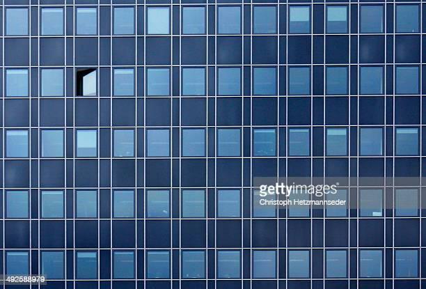 One open window