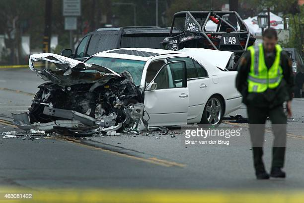 One person was killed and at least seven other people were injured in a fourvehicle crash that may have been triggered by paparazzi chasing Olympic...