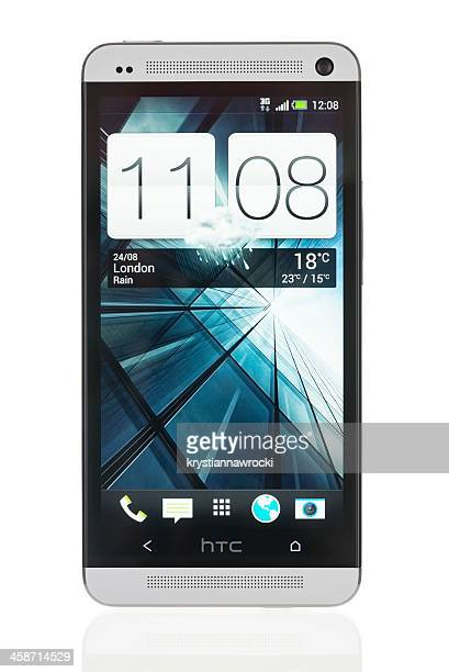 htc one - high tech computer corporation stock pictures, royalty-free photos & images
