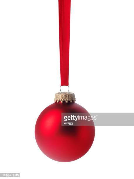 One Red Christmas Bauble