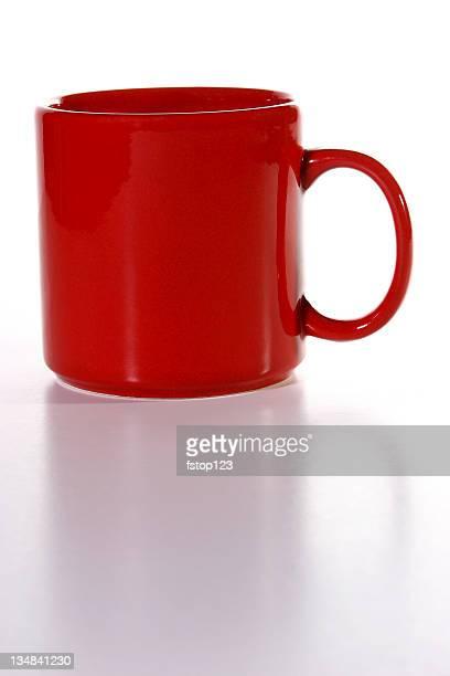 赤のコーヒーカップ