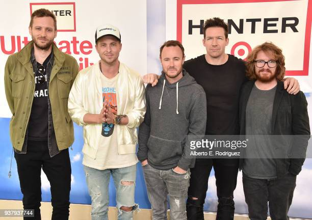 One Republic attends the Hunter For Target Ultimate Family Festival at Brookside Golf Club on March 25 2018 in Pasadena California