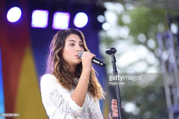AMERICA One Republic performs live from Central Park on Good Morning America Friday August 4 2017 airing on the Walt Disney Television via Getty...