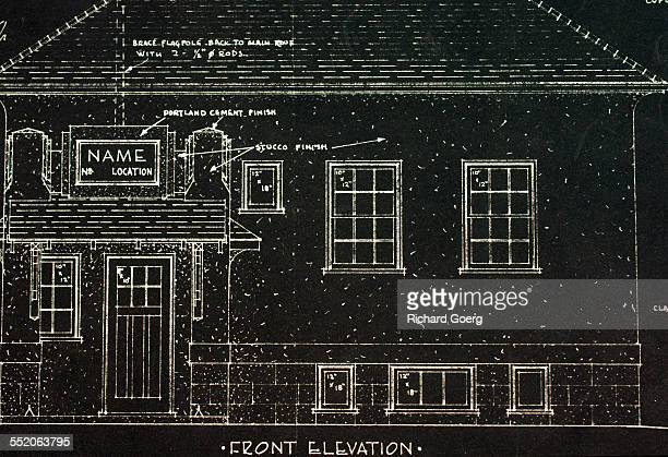 School building blueprint stock photos and pictures getty images one room rural school malvernweather Images