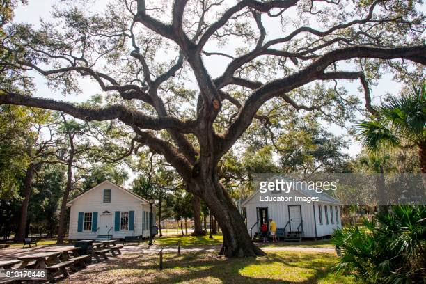 One room school and courthouse in Manatee Village Historical Park Bradenton Florida