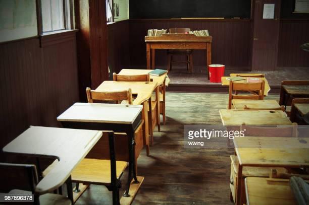 1905 1 つの部屋の学校の教室 - 1900~1909年 ストックフォトと画像