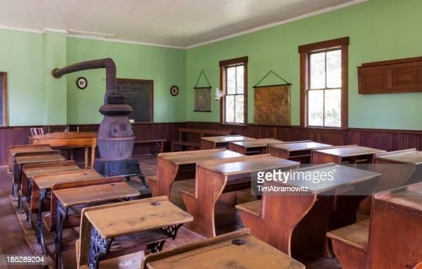 One Room Schoolhouse Interior