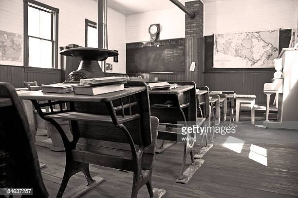 one room shool house 1903 - 20th century stock pictures, royalty-free photos & images
