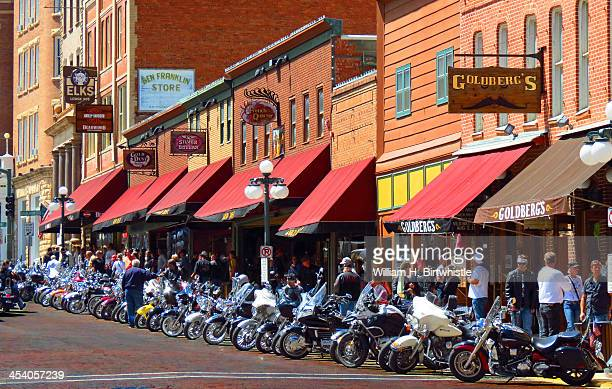 CONTENT] One section of downtown Deadwood is lined with motorcycles whose owners are here for the Sturgis rally Many of the bikes were works of art...