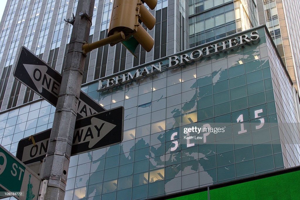 Lehman Brothers One September 15 Way to Bankruptcy : News Photo