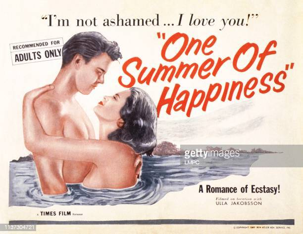One Summer Of Happiness, , US lobbycard, 1951.