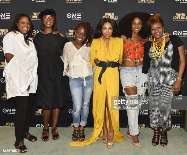 TV One SVP Original Programming Production D'Angela Proctor Director Tasha SmithTV One Sr Director of Programming Tia Smith actress/hip hop artist...