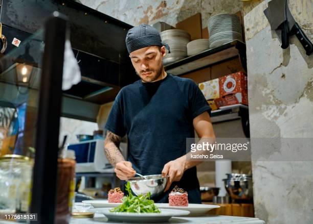 イタリアの一つの味、あなたは恋に落ちるでしょう - ステーキハウス ストックフォトと画像