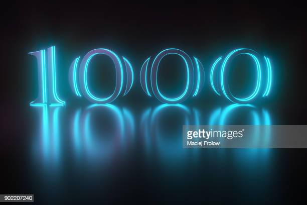 one thousand typography - typographies stock photos and pictures