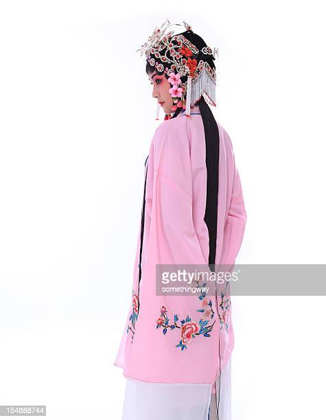 one traditional chinese opera actor - peking opera stock photos and pictures