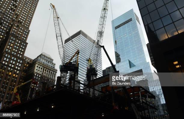 One Vanderbilt Place construction in New York city