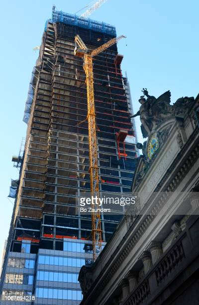 One Vanderbilt, under construction next to Grand Central Terminal, in NYC.