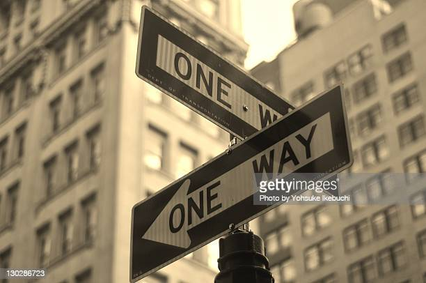 One Way, Manhattan