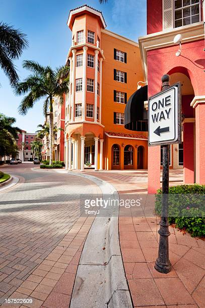 one way - naples florida stock pictures, royalty-free photos & images