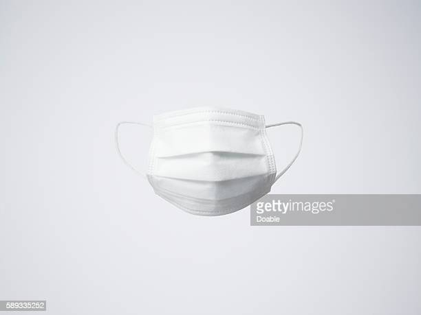 One white surgical mask