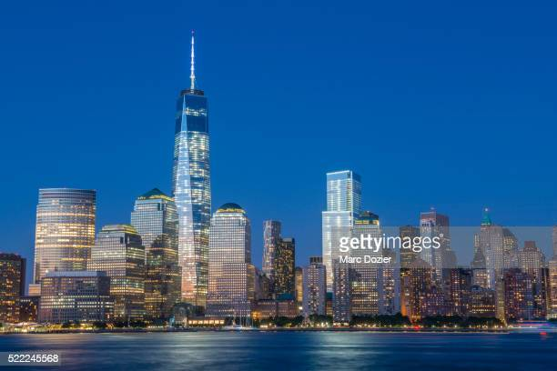 One World Trade Center and the skyline