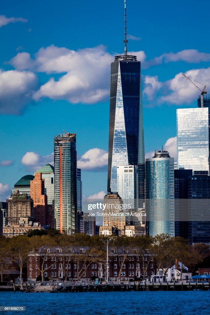 One World Trade Center Freedom Tower New York New York Waterfront