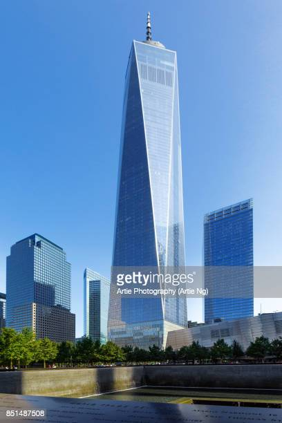 One World Trade Center (Freedom Tower) in Lower Manhattan, New York City, United States of America