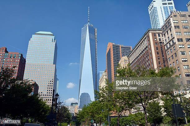 One World Trade Center. Photo Taken From West Street In Lower Manhattan. Photo Taken Friday August 30, 2013. One World Trade Center Lower Manhattan...
