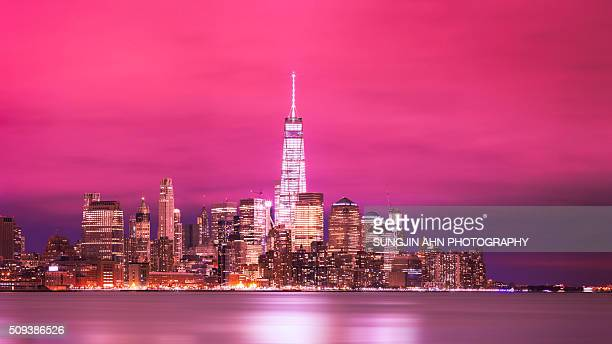 one world trade center - landrat stock pictures, royalty-free photos & images