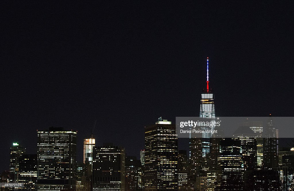 Security Increased In New York City After Attacks In Paris : News Photo