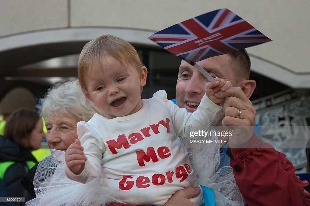 NZEALAND-BRITAIN-AUSTRALIA-ROYALS : News Photo