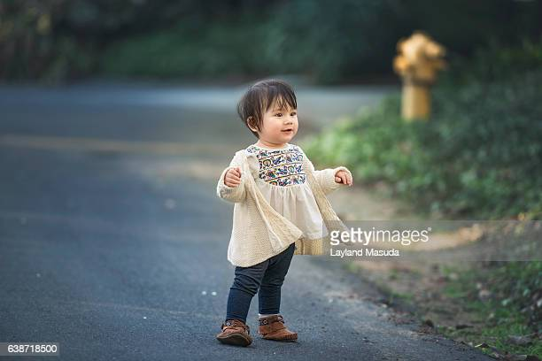 One Year Old Walking