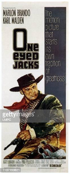 Oneeyed Jacks poster Marlon Brando 1961